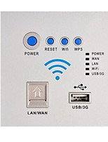 Tick A Fil Others Network usb socket panel Blanc / Argenté