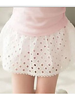 Girl's Going out Print ShortsCotton Summer White