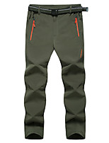 Men's Pants/Trousers/Overtrousers Bottoms Camping / Hiking Climbing Waterproof Breathable Windproof Fall/Autumn Winter Black Army Green-
