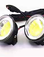 COB Circular  Fog Lamp 3.5 Inch Bright Day Light