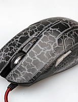 809 photoélectrique câble 6 clavier ou la souris couleur lampe de respiration Vente en gros ordinateur portable souris d'ordinateur