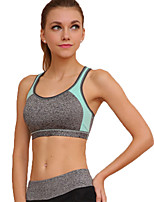 Women's Sexy Sports Bra Wireless Patchwork Underwear Fitness Running Yoga Tops