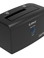 Orico 8618 us3 boîte de disque dur 3,5 g 2,5 / 3,5 pouces démarre un port série avec ce disque dur portable couleur aléatoire