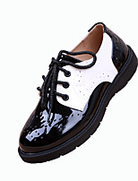 Kid Unisex Comfort Pointed Toe Flat Patent Leather Loafers Shoes Dress shoes Students school shoes Performance shoes