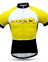 Sports Bike/Cycling Clothing Sets/Suits Men's Short Sleeve Breathable / Quick Dry / Windproof / Sunscreen Coolmax