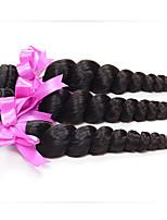 7A Peruvian Virgin Hair 3 Bundles Deals Peruvian Loose Wave Peruvian Curly Weave Human Hair Extensions