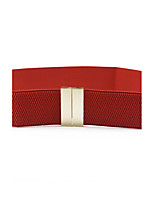 Fashion Women Belt Oxford Cloth Material Belt Metal Buckle Decorative Belts