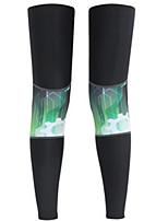 Leg Warmers/Knee Warmers Bike Sunscreen / Sweat-wicking / Comfortable Unisex Black LYCRA®