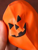 5pcs de halloween ballon ballon décoration inférieure motif lisse et épaisse de 12 pouces de couleur d'activités est aléatoire