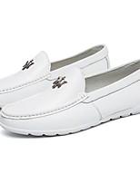 Men's Flats Comfort / Round Toe / Closed Toe  Casual Flat Heel Others Black / Blue / White Walking