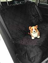 Cat / Dog Bed Pet Mats & Pads Waterproof / Portable / Breathable / Soft Black / Brown Plush