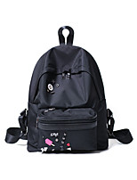 Women Canvas Casual / Outdoor Backpack Black