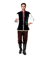 Costumes More Costumes Halloween / Oktoberfest Black Solid Terylene Top / Pants / More Accessories