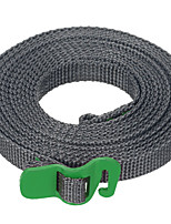 FURA Polypropylene Tie Down Strap Tying Webbing Rope with  Hook - Green / Orange