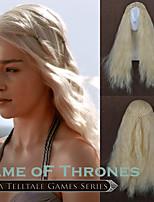 парик Костюм Парики для женщин Бежевый блонд (#22) Карнавальные парики Косплей парики