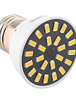 5W E26/E27 LED-spotlampen MR16 24 SMD 5733 400-500 lm Warm wit / Koel wit Decoratief AC 220-240 / AC 110-130 V 1 stuks
