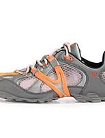 גברים-נעלי אתלטיקה-סינטתי-שטוחות-כתום-שטח-עקב שטוח