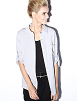 NEW BEFORE  Women's Going out Chinoiserie All Seasons ShirtEmbroidered Shirt Collar Long Sleeve