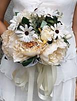 Hochzeitsblumen Rundförmig Pfingstrosen Sträuße Hochzeit / Partei / Abend Satin ca.25cm