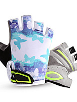 Activity/ Sports Gloves Cycling/Bike Kid's Fingerless Gloves Anti-skidding / Wearproof / Breathable / Moisture