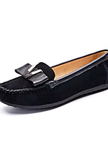 Women's Loafers & Slip-Ons Spring / Fall Moccasin / Round Toe Suede Outdoor / Casual Flat Heel shoe