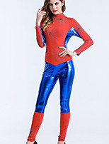 Women Sexy Perfect Sense Super Hero Spider Catsuit Jumpsuit Halloween Cosplay Costume