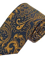 Men Wedding Party Casual Neck Tie Polyester Silk