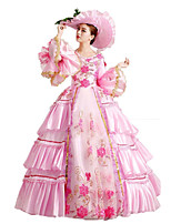 Steampunk@Women's Standing Collor Layered Lolita Dresses Wedding Costumes