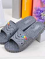 Unisex Slippers & Flip-Flops Spring / Summer / Fall / Winter Comfort PVC Casual Flat Heel Others Black / Pink Others