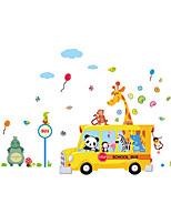 Tiere / Weihnachten / Mode Wand-Sticker Flugzeug-Wand Sticker Dekorative Wand Sticker,PVC Stoff Repositionierbar / Waschbar / Abziehbar