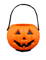 1PC Halloween  Pumpkin Lamp Bar Scene Dress Children Toy Candy Jar Pumpkin Lamp