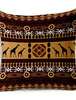 1 PC Algodón/Lino Almohada de cuerpo / El amortiguador del sofá,Lunares Tradicional