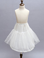 Slips Ball Gown Slip Short-Length 2 Polyester White