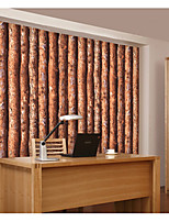 Wood Wallpaper For Home Classical Wall Covering  Non-woven fabric Material Adhesive required Wallpaper