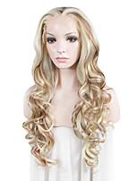 парик шнурка Парики для женщин Блондинка Карнавальные парики Косплей парики