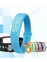 W5 Creative Intelligent Multi-Function Pedometer Silicone Watch Bracelet Led Sports Bracelet