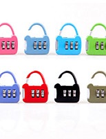 Random Colors Luggage Lock