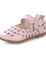 Girl's Sandals Summer Leatherette Casual Flat Heel Others Pink Others