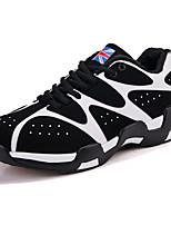 Men's Sneakers Spring / Fall Comfort PU Casual Flat Heel LBlack / Blue / Red Sneaker