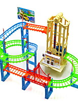 Children's Puzzle Stunt Track Park Lift Music Lighting