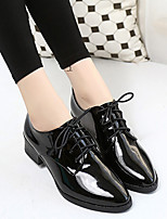 Women's Heels Spring Fall Winter Novelty PU Casual Party & Evening Chunky Heel Others Black Burgundy Others