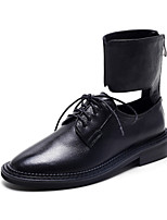Women's Flats Spring / Fall Comfort Rubber Casual Flat Heel Others Black Others
