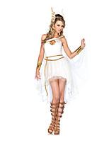 Costumes Déguisements thème film & TV Halloween Blanc Couleur Pleine Térylène Robe / Plus d'accessoires