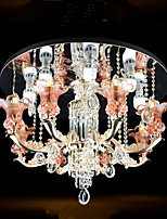 Embedded installation ceiling lighting living room / bedroom / dining room crystal lamps and lanterns