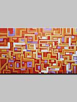 Ручная роспись Абстракция Картины маслом,Modern 1 панель Холст Hang-роспись маслом For Украшение дома