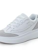 Черный / Белый-Женский-На каждый день-Тюль-На плоской подошве-Удобная обувь-На плокой подошве