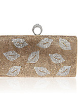 L.west Women Elegant High-grade Diamond Lips Evening Bag