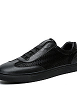 Men's Flats Spring / Summer / Fall / Winter Flats Leather Office & Career / Casual Flat Heel Lace-up