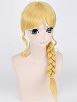 Fashion Braids Wigs Blonde Color Synthetic Cosplay African American Wigs