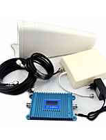 2G Mobile Phone Signal Booster GSM980 GSM900mhz Signal Repeater with Log Periodic Antenna / Panel Antenna /  LCD Display